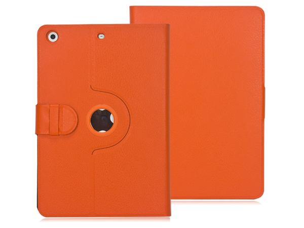 360 degree Rotatable stand leather case for iPad mini 2