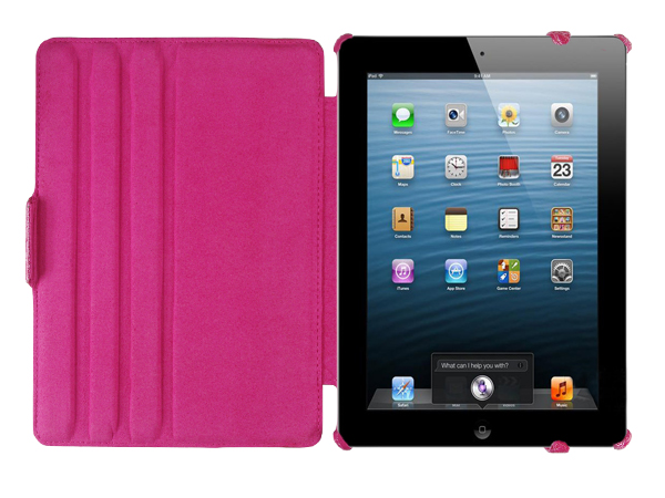 Multi-stand shell for iPad Air