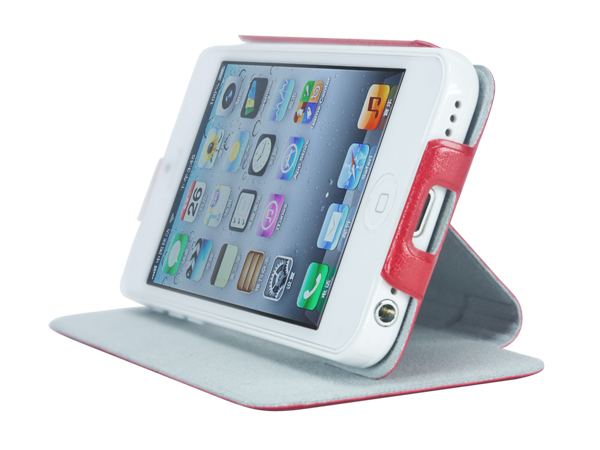 Slim stand case for iPhone 5C