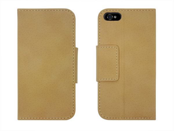 Stand leather case for iPhone 5/5S