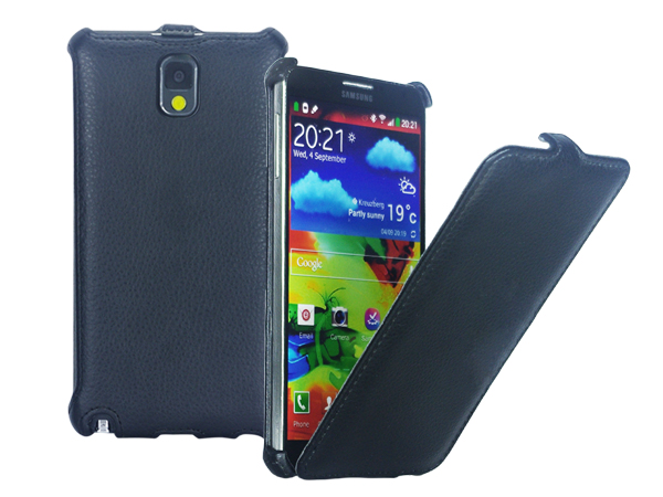 Flip leather case for Samsung Galaxy Note 3