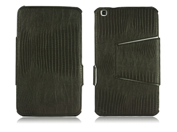 Hot pressing leather case for Samsung Galaxy Tab 3 8.0