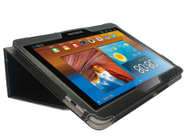 Folio stand leather case for Samsung Galaxy Tab 3 10.1