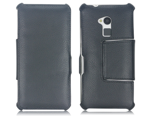 Wallet stand case for  HTC One Max