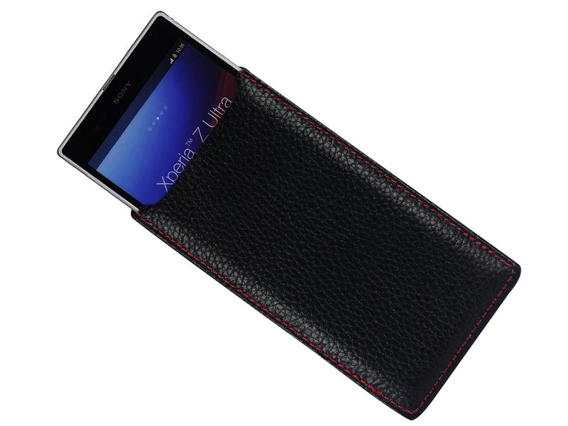 Leather pouch for Sony Xperia Z ultra