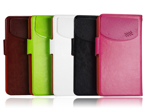 Universal leather case for smartphones