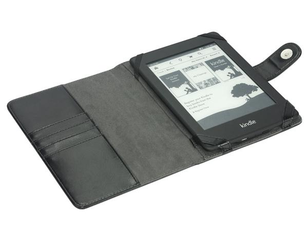 Folio leather case for Amazon Kindle paperwhite