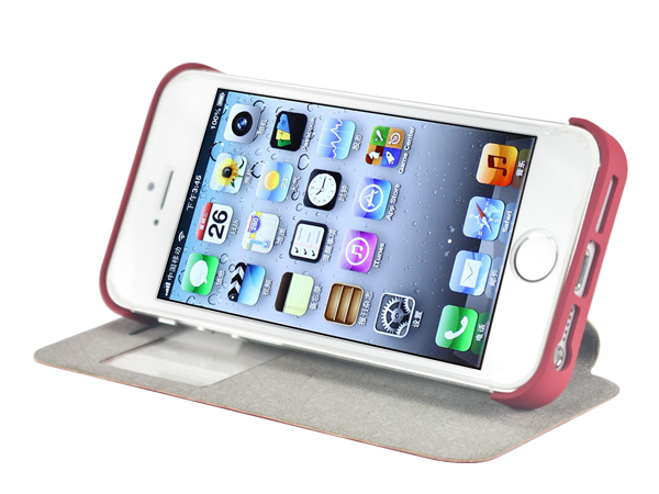 Hot selling leather case for iPhone5S
