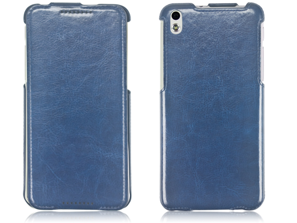Slim stand leather case for HTC 816
