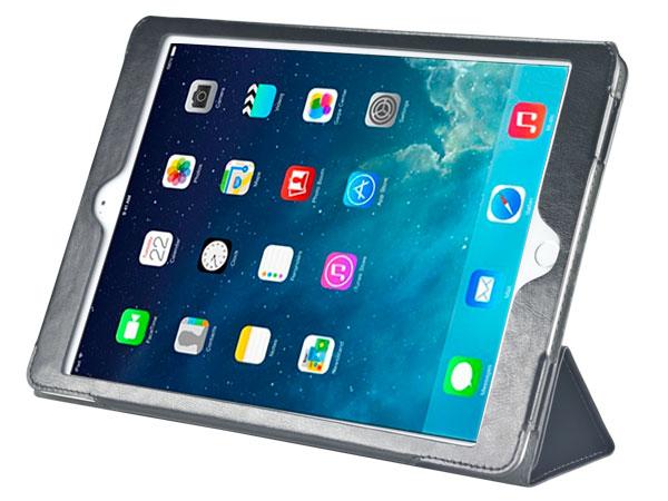 Folio stand leather casefor iPad Air 2