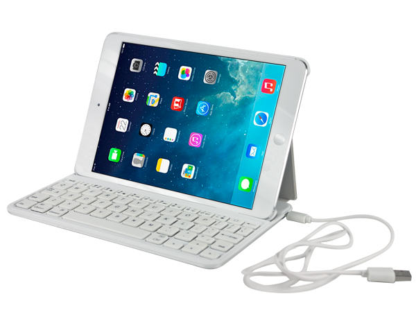 Keyboard leather casefor iPad mini 2
